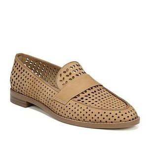 Franco Sarto Perforated Hurley Loafers
